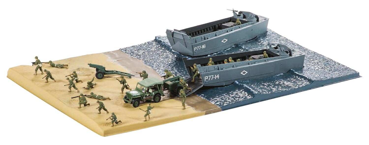 D-Day The Sea Assault Gift Set 1:72